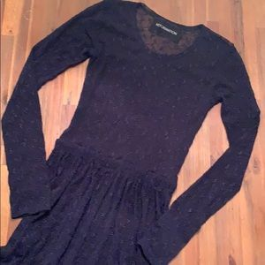 Reformation sheer Dress